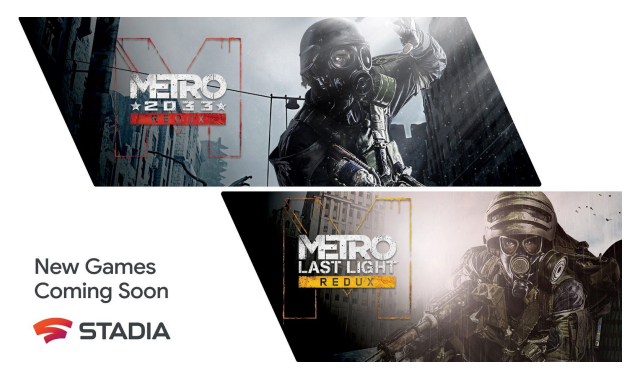 [Update: Now available!] Stadia Surprises Everyone by Announcing Two More Metro Games