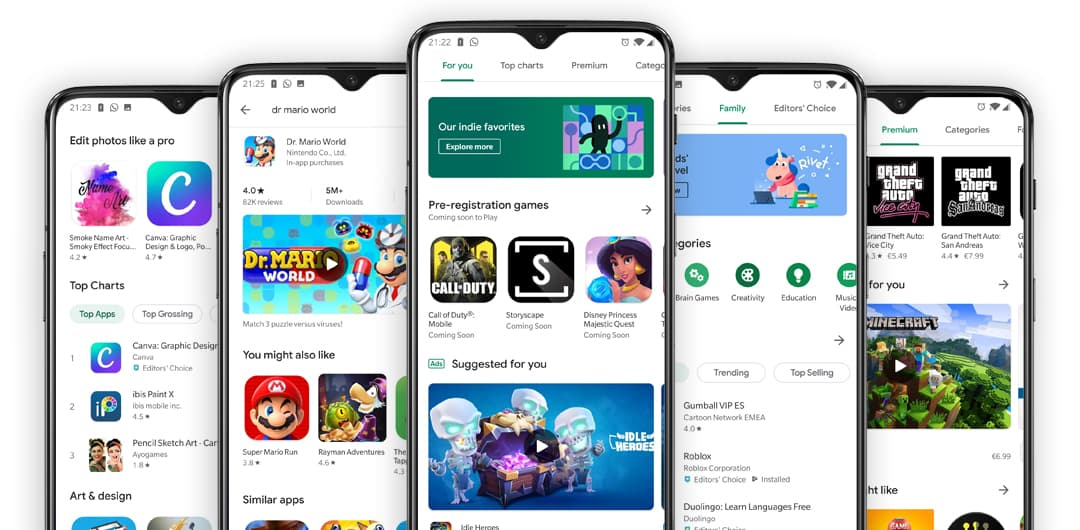 Google Play Store Begins Showing Gameplay Videos for Listings and Why That's a Big Deal