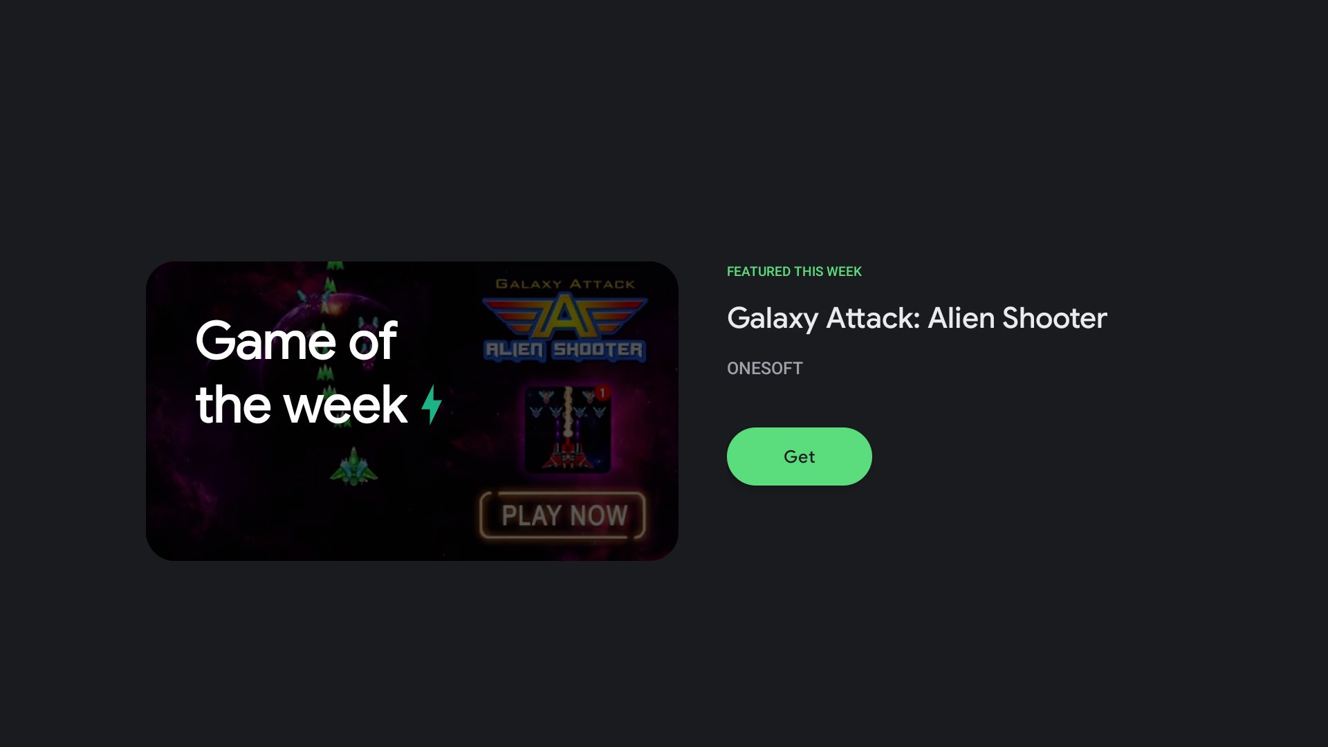 Galaxy Attack: Alien Shooter is the Google Play Games Featured Game of the Week