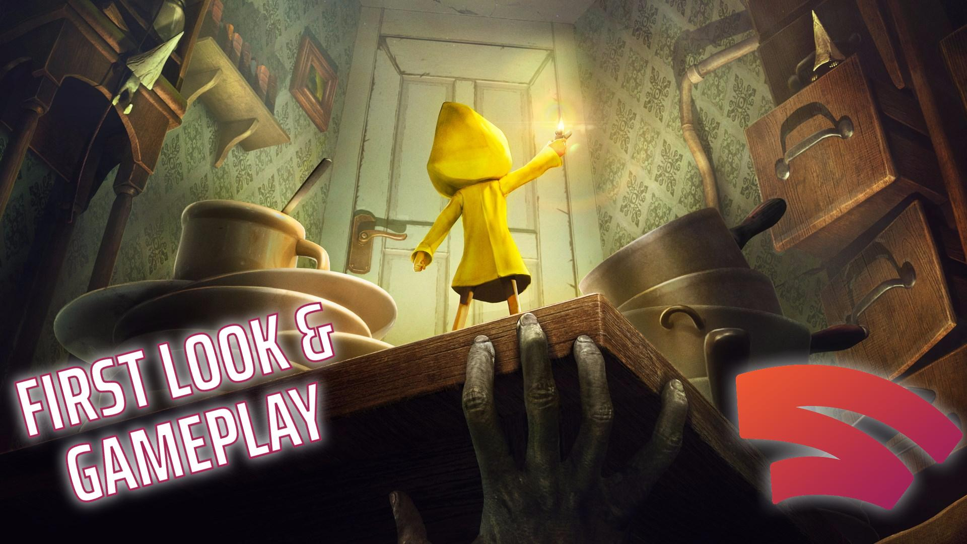 Little Nightmares Stadia first look and gameplay
