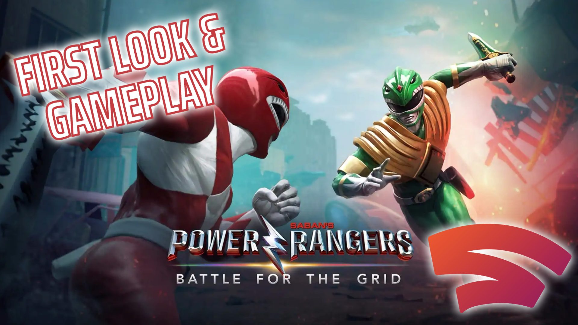 Power Rangers: Battle for the Grid Stadia First Look Gameplay
