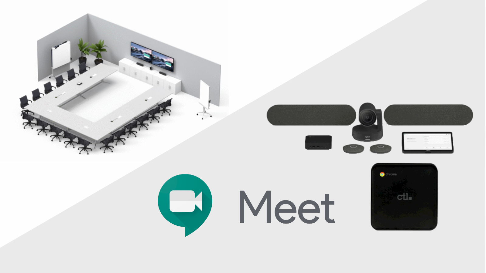 CTL debuts powerful new Google Meet Logitech hardware bundles