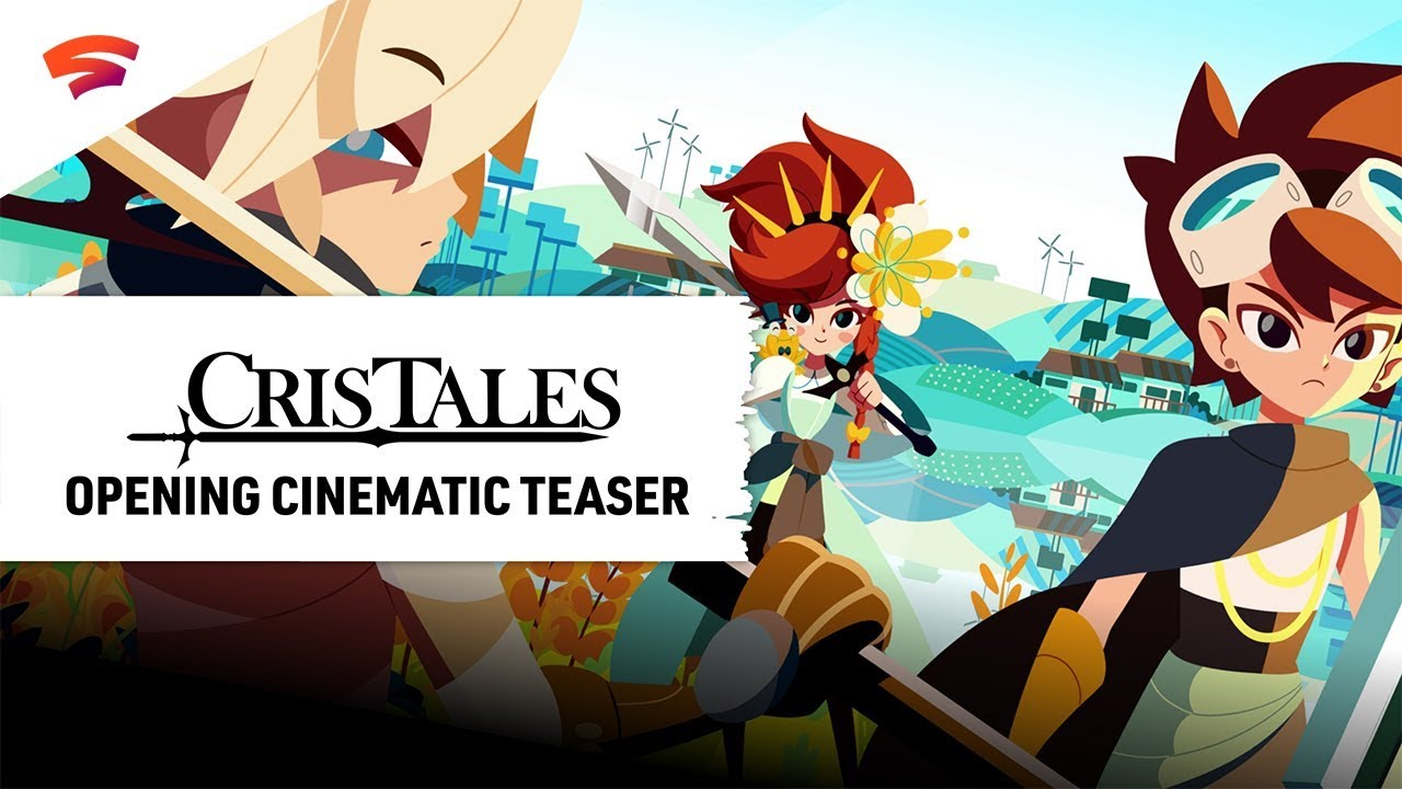 Cristales is a unique RPG for Stadia that lets you play the past, present and future all at the same time
