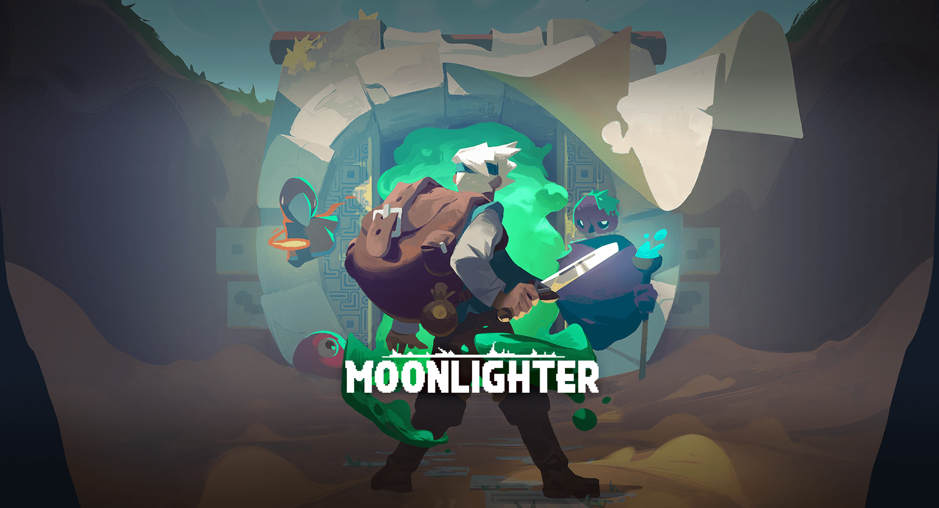 Shop Keeping Action RPG Moonlighter Announced for Mobile! Will include reworked controls