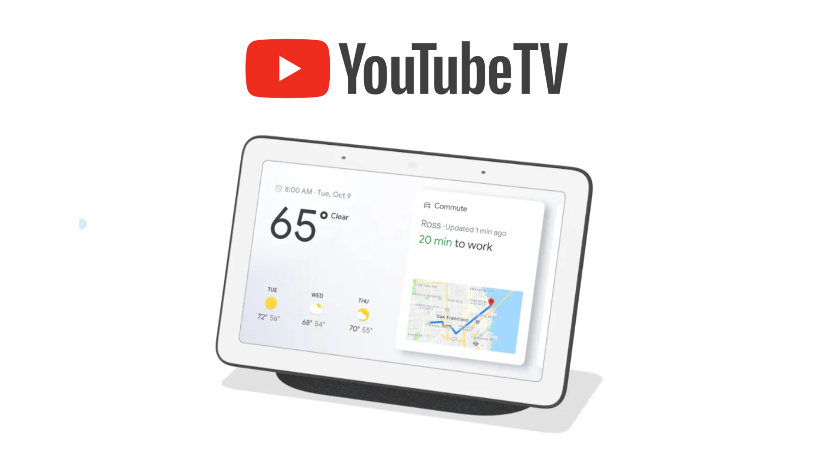 Select YouTube TV subscribers just scored a $50 Nest Hub smart display