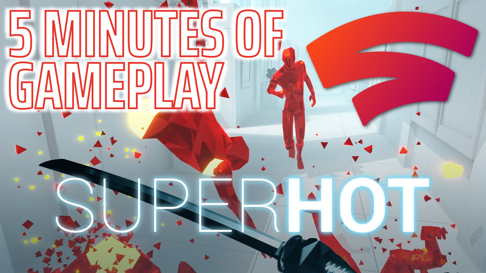 Superhot: Stadia First Impressions Gameplay