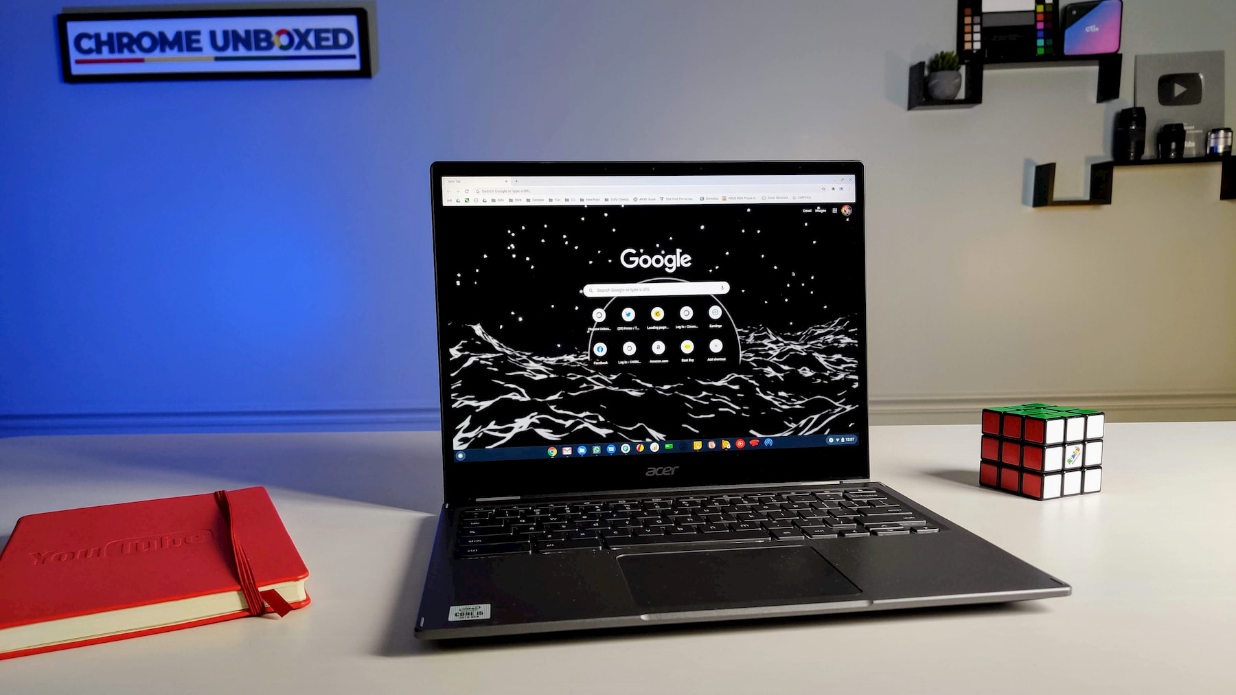 How to make Chrome's new tab page display an animated GIF background