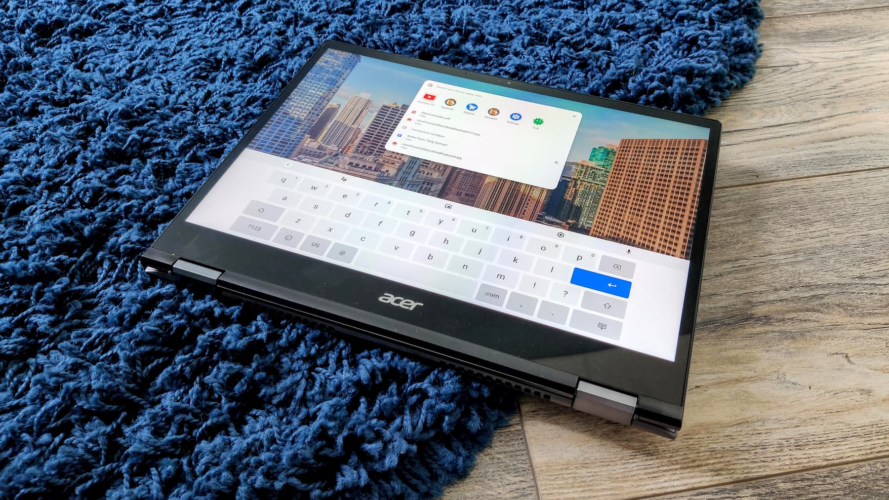 The Chromebook virtual keyboard will get a facelift in Chrome OS 85