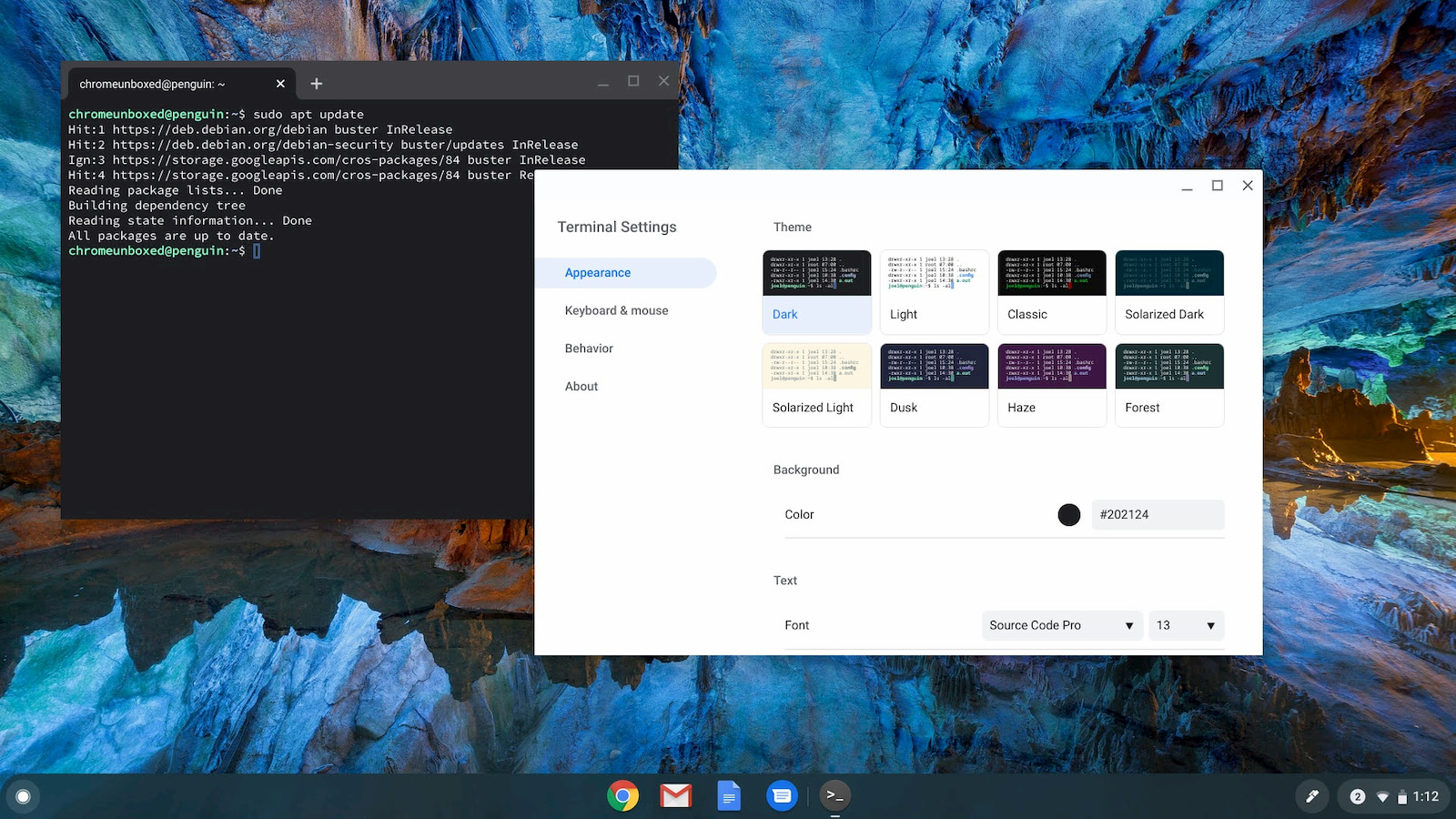 Say hello to the Linux Terminal 2.0 for Chrome OS