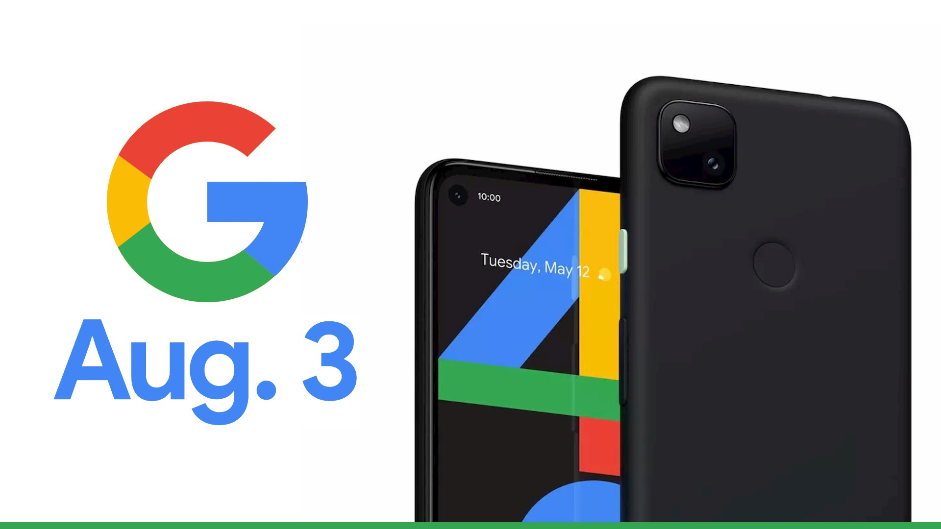 Google confirms an August 3rd launch for the Pixel 4a with a fun puzzle