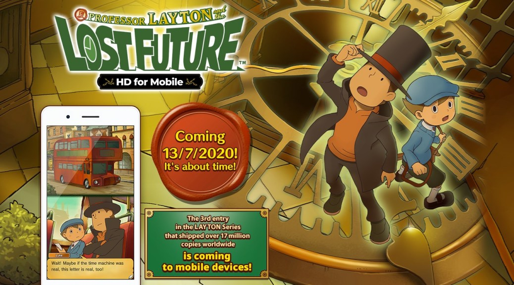 [UPDATE AVAILABLE] Professor Layton and the Unwound Future is coming to mobile, but you can still get your puzzle fix until then