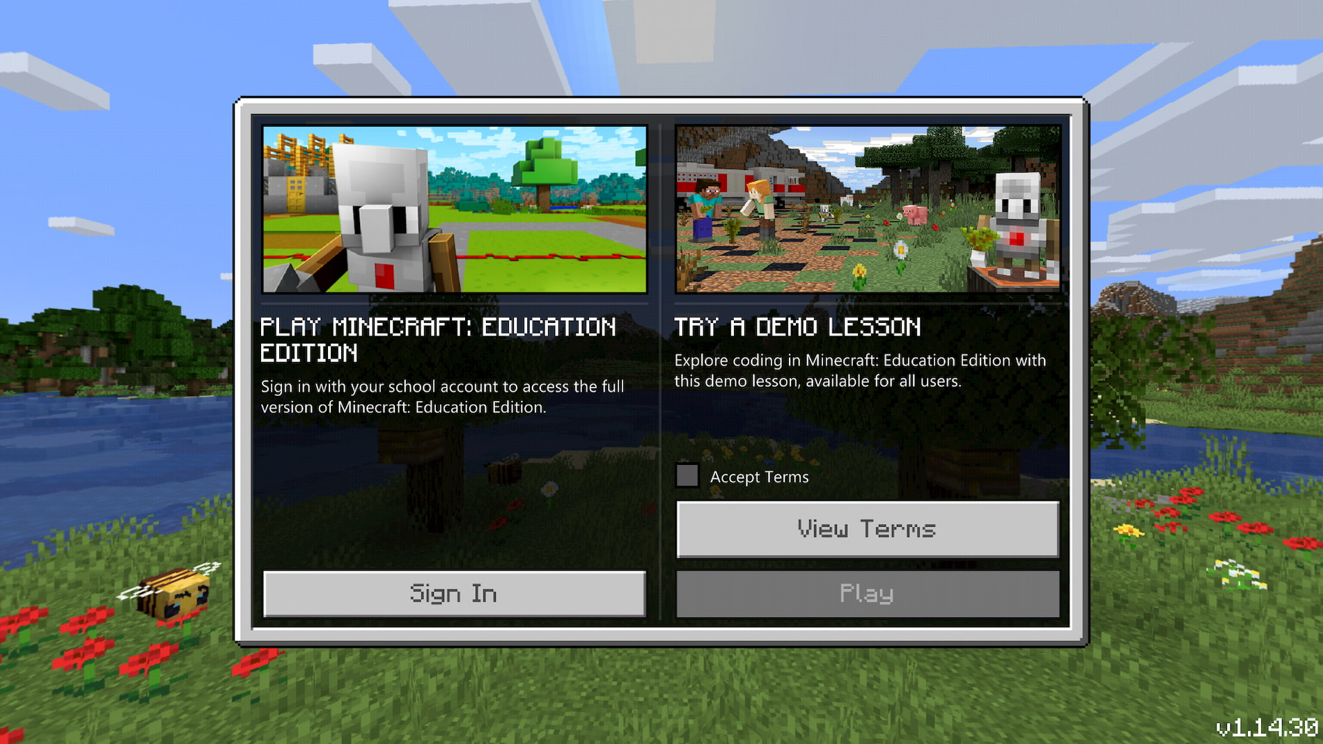 Minecraft returns to Chromebooks but there is a catch