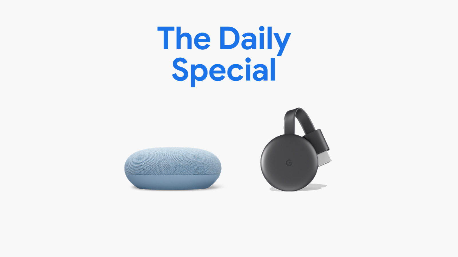 Google Store Daily Special: Save $15 on this Nest Mini & Chromecast bundle