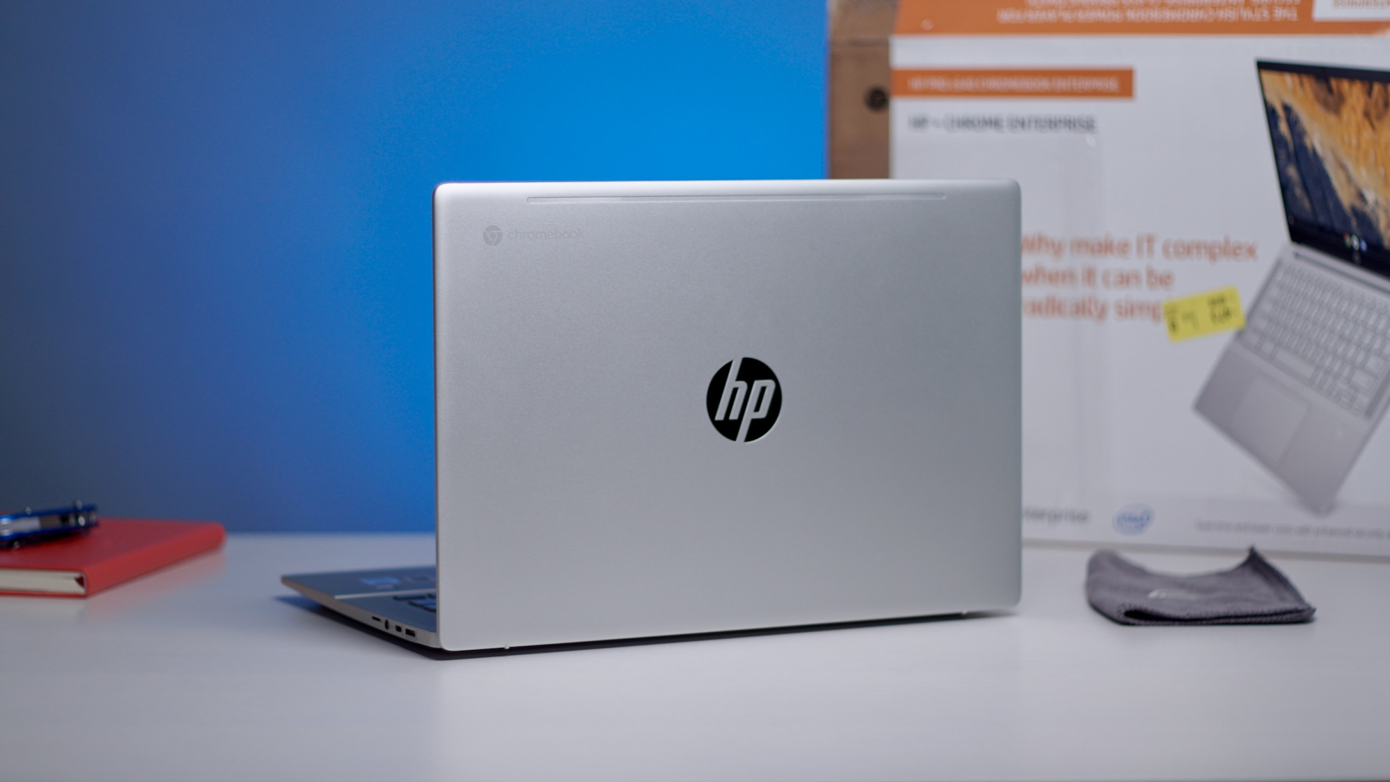HP Pro C640 Chromebook unboxing and initial impressions