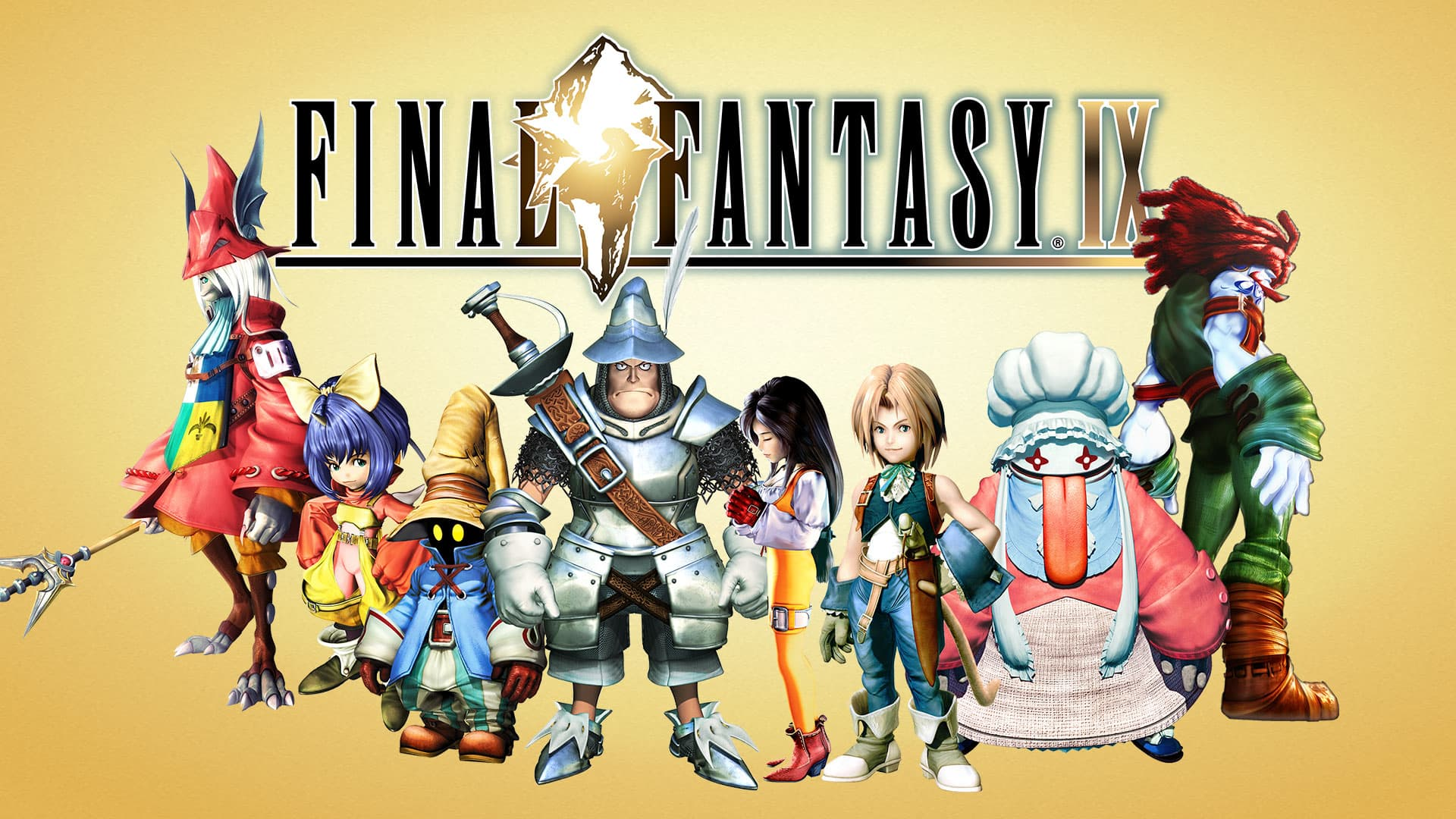 A bunch of Square Enix games are on sale right now. Half off of popular titles including Final Fantasy IX