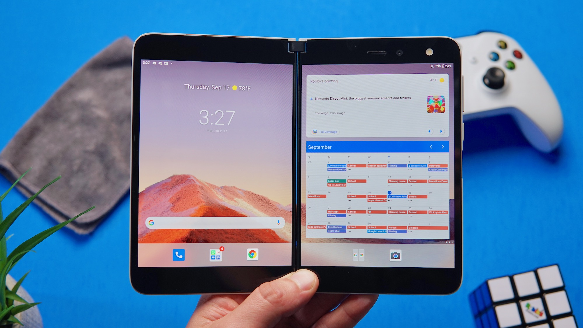 The Surface Duo has me excited for a dual-screen Chrome OS 'phone'