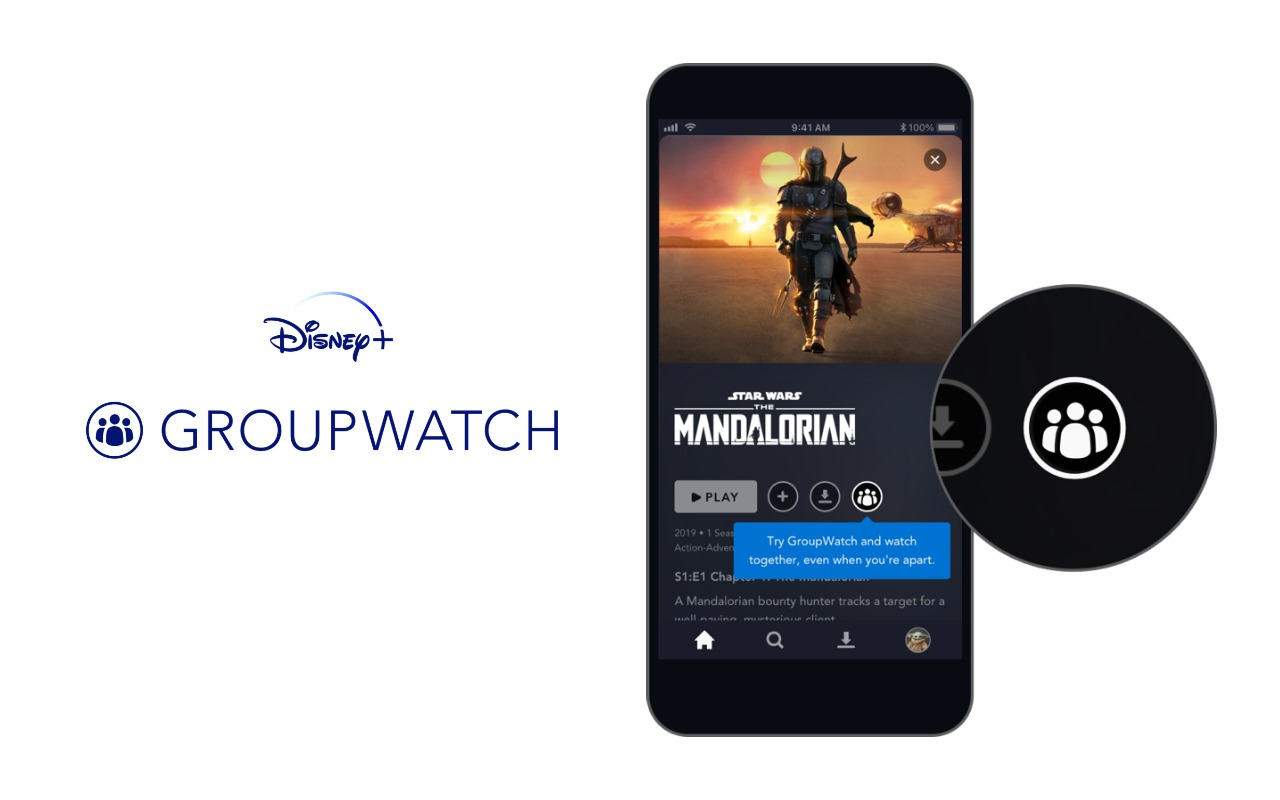 Disney+ adds GroupWatch feature for watching with friends and family, even when apart