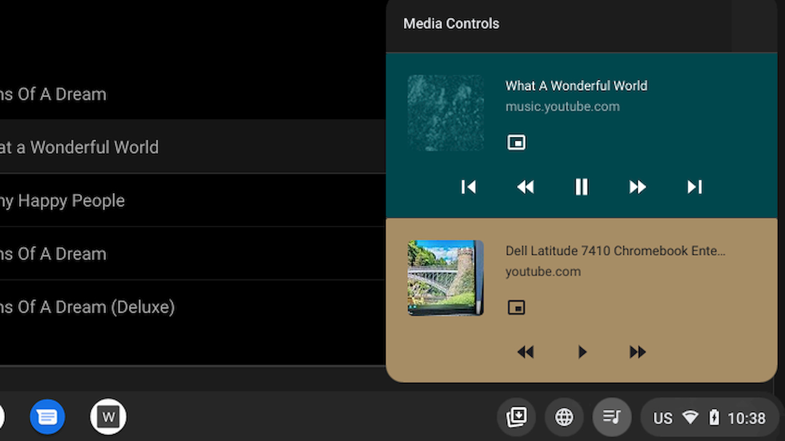 Chrome OS Global Media Controls arrive in the Canary Channel