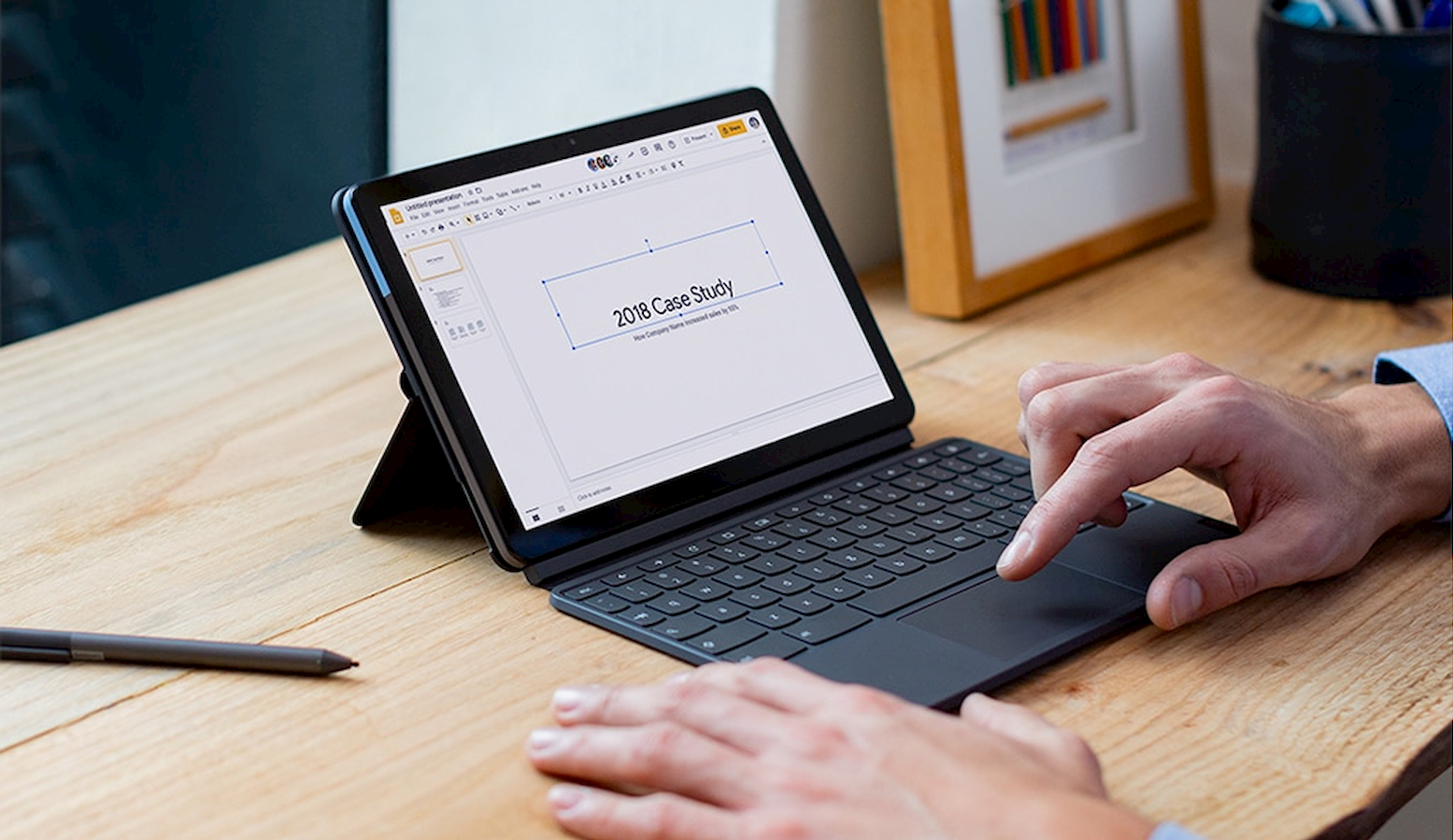For $38, you can buy the USI stylus designed for the Lenovo Chromebook Duet