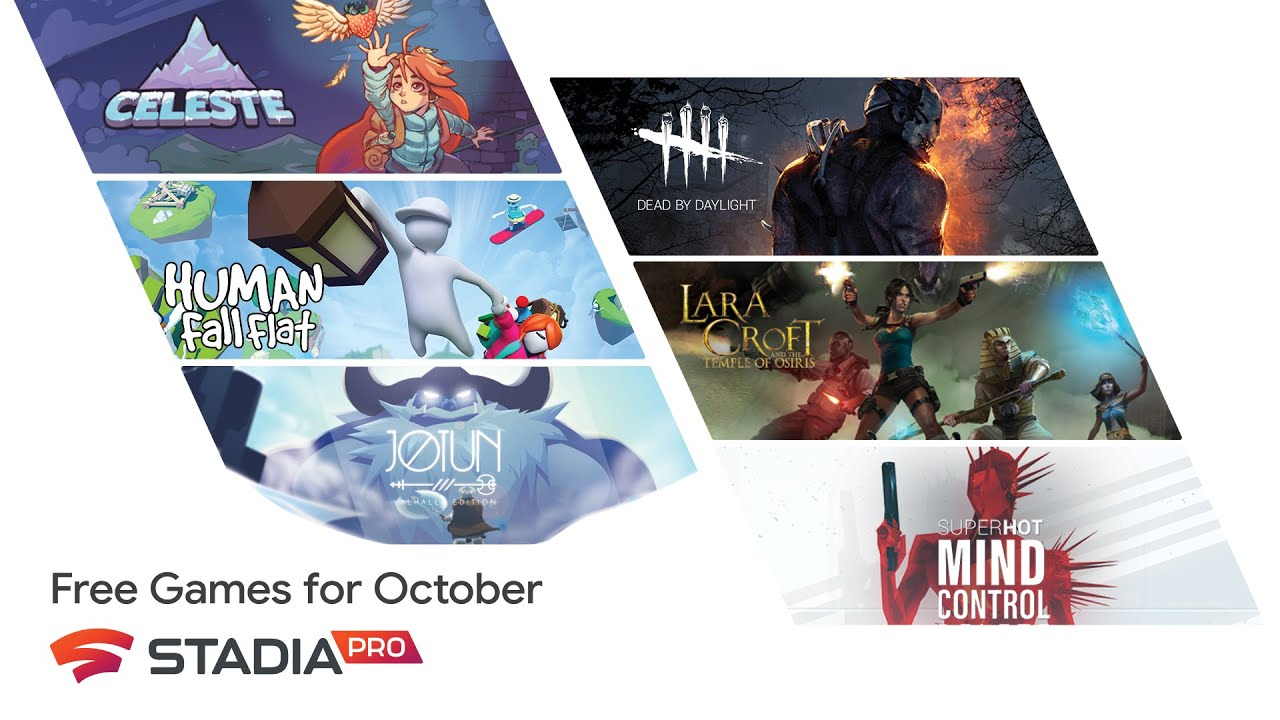 Claim your Stadia Pro games for October Now – Dead by Daylight, Jotun, Celeste, more