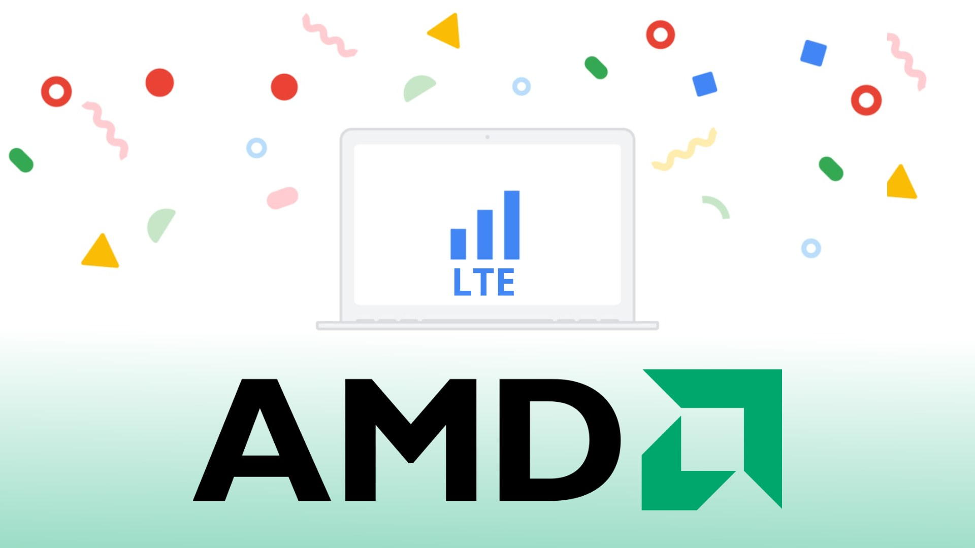 Upcoming AMD-powered Chromebooks will have LTE options
