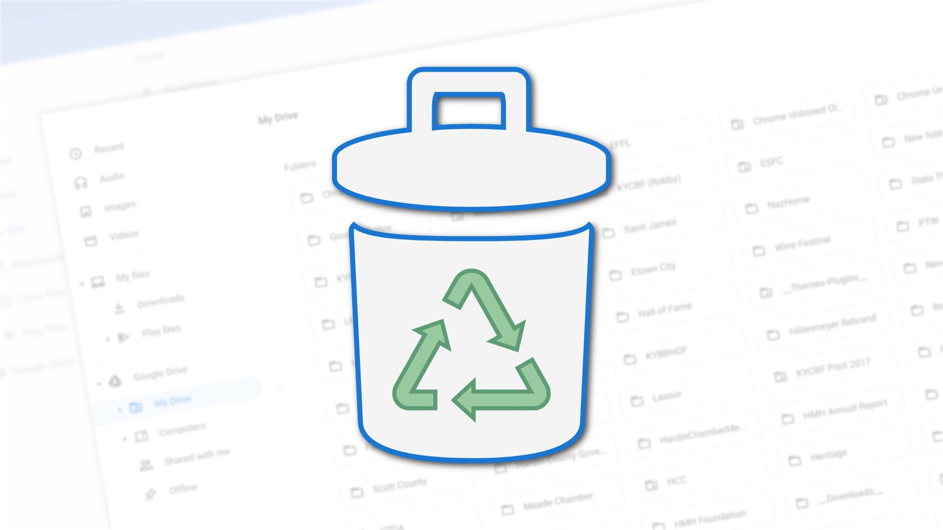 The Chromebook Files app is finally getting a proper trash can