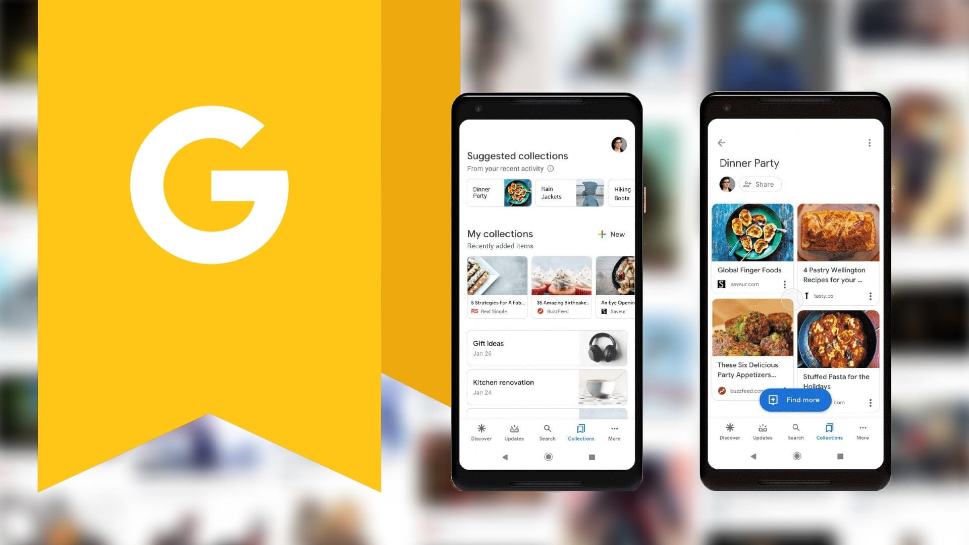 Google Collections gets a much-needed redesign in the Search app for Android