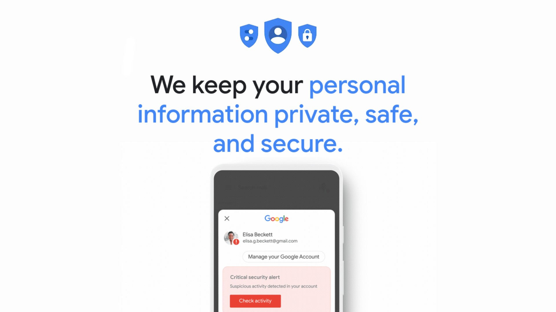 Google account security alerts find a new spoof-proof home and all you have to do is ask