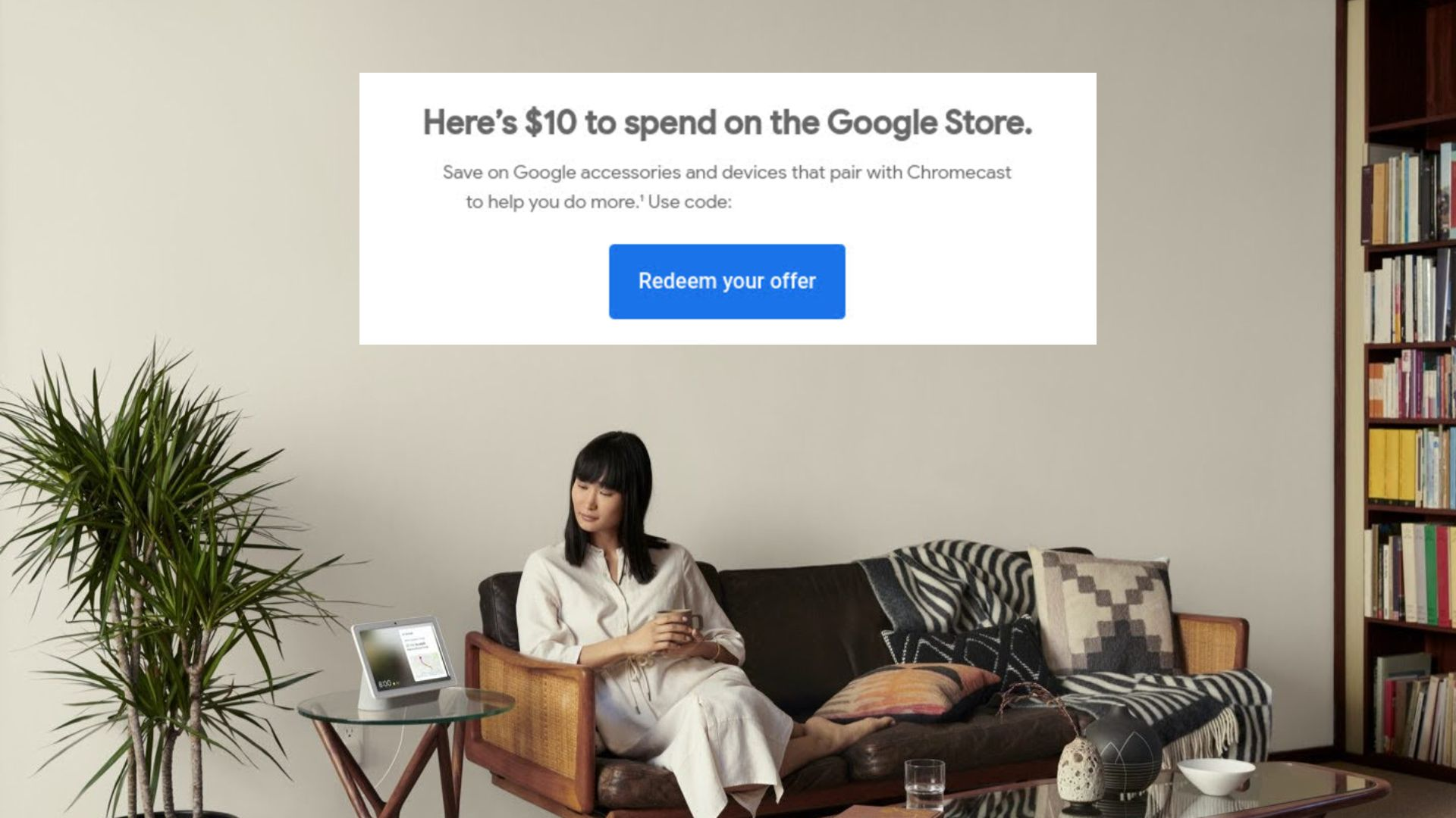 [Updated] Some Chromecast with Google TV owners are receiving a free $10 Google Store Credit via email