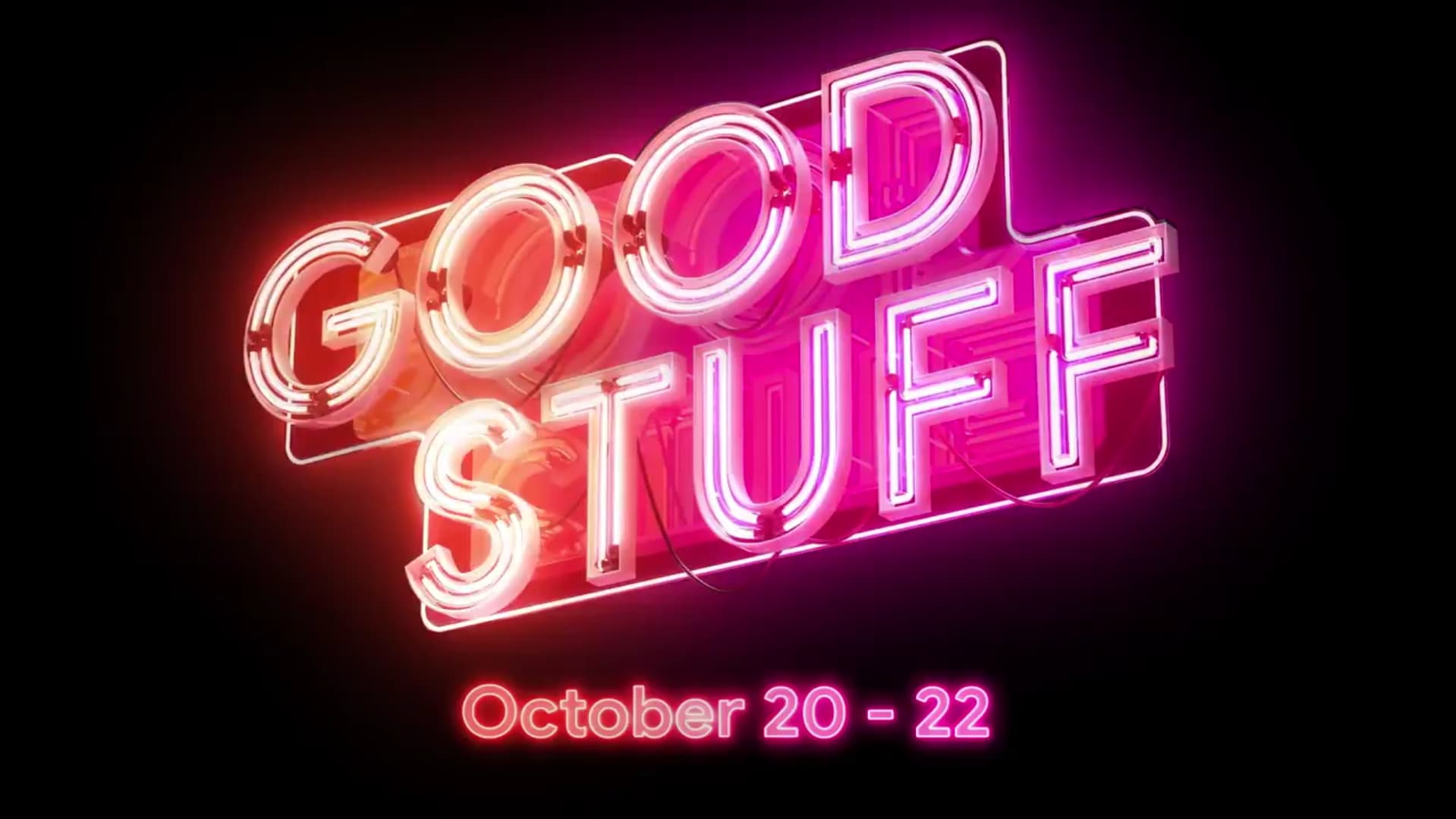 Get ready for the 'Good Stuff' as Stadia prepares a multi-day reveal event for announcements and more