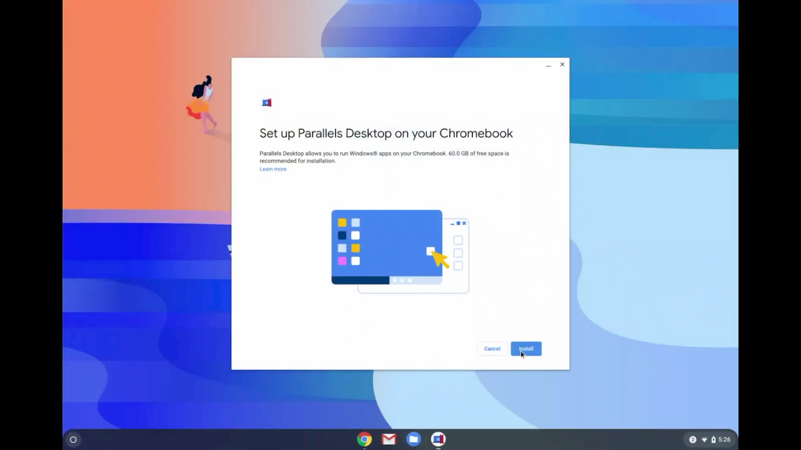 Parallels videos show off seamless Windows and Chrome OS integration