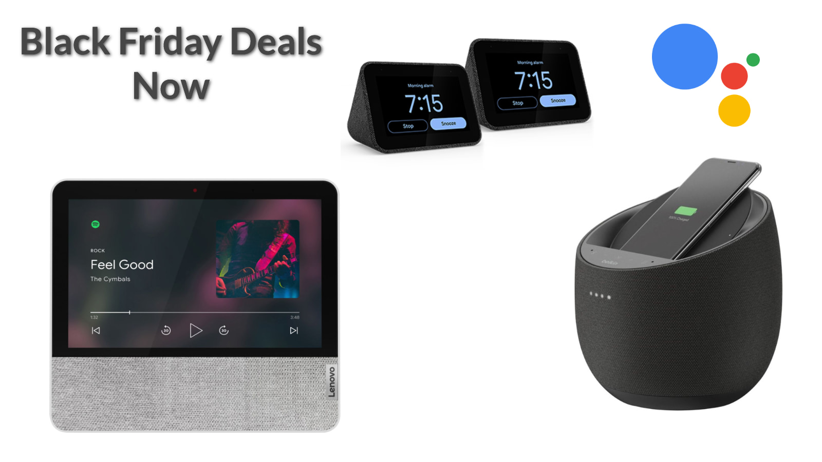 Black Friday: Up to 56% off of these Assistant-enabled Smart Speakers and Displays
