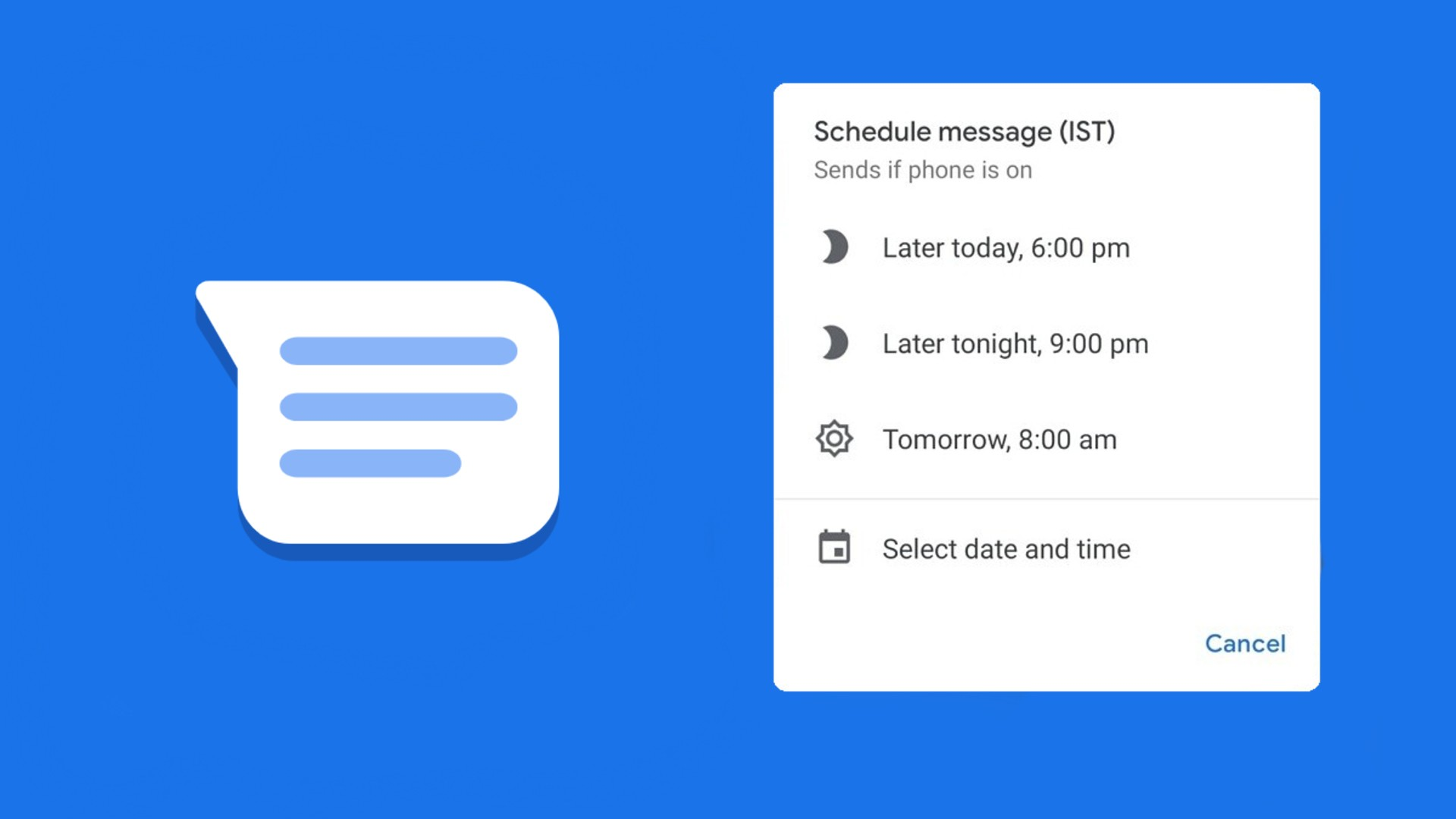 Google Messages to bring message scheduling feature to the masses