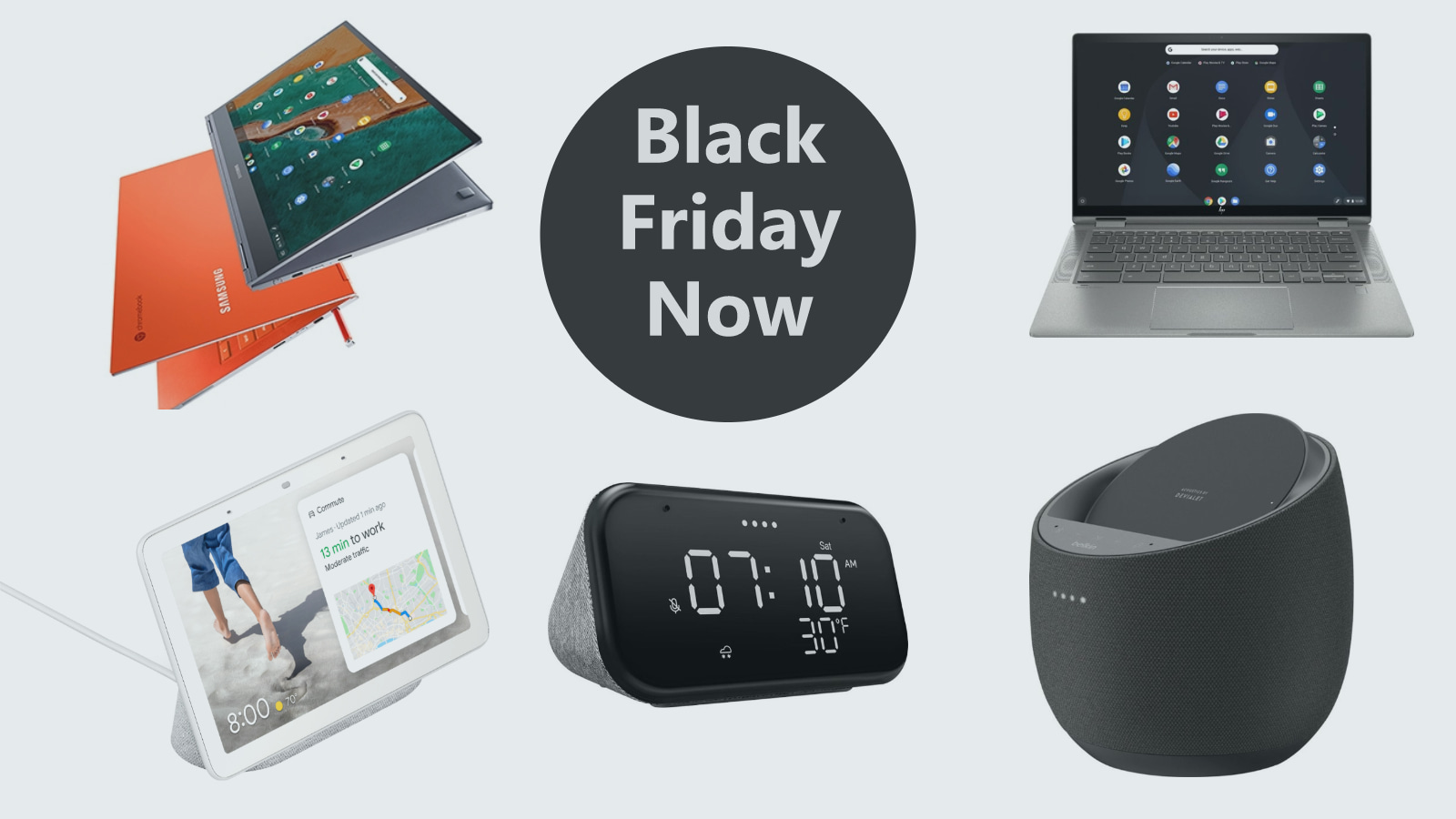 The Best Black Friday Deals on Chromebooks, Smart Displays and more