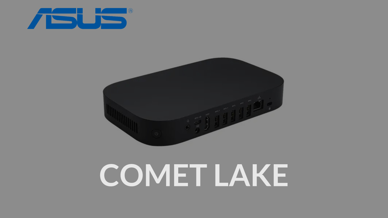 ASUS joins the fray with a new Comet Lake Chromebox