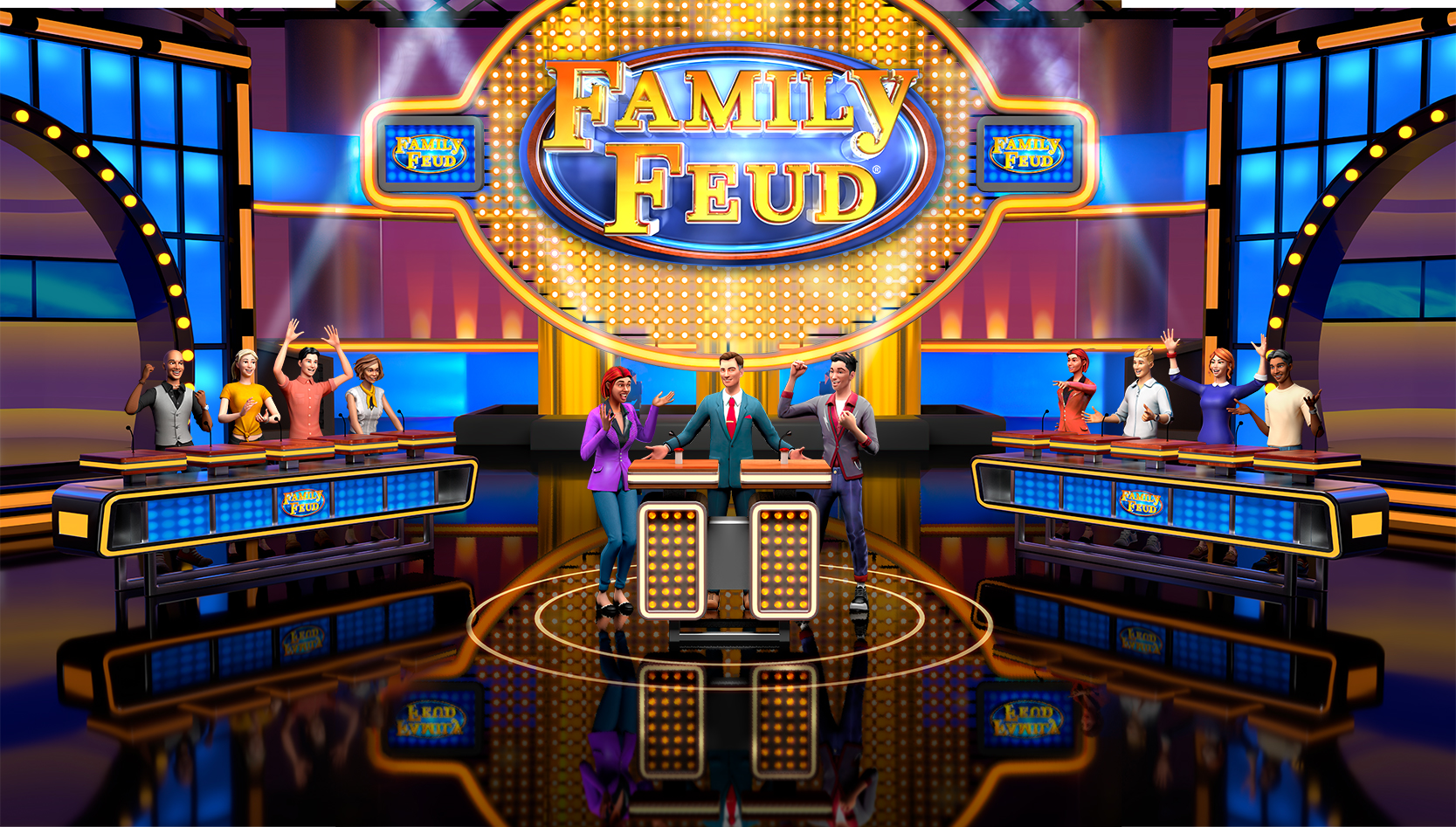 Family Feud is launching on Stadia in a few days and it has the most awkward timing