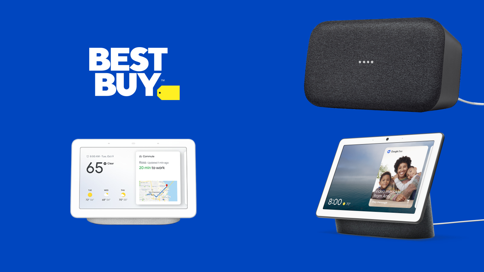 Best Buy Black Friday: $50 Nest Hub, $149 Google Home Max and more