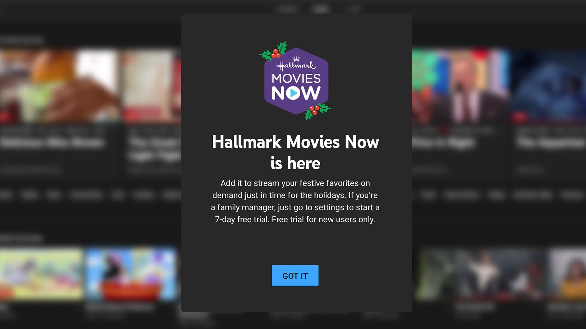 Hallmark Movies Now Comes To Youtube Tv With A Free Trial Just In Time For The Holidays