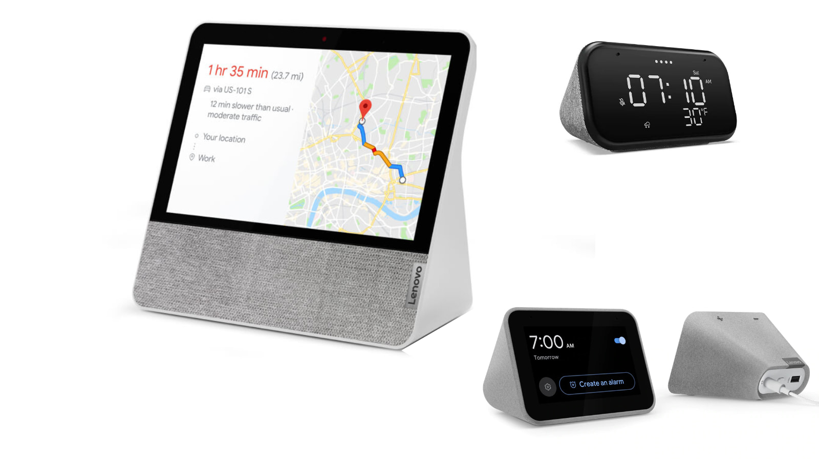 3 Lenovo smart devices with Google Assistant under $60