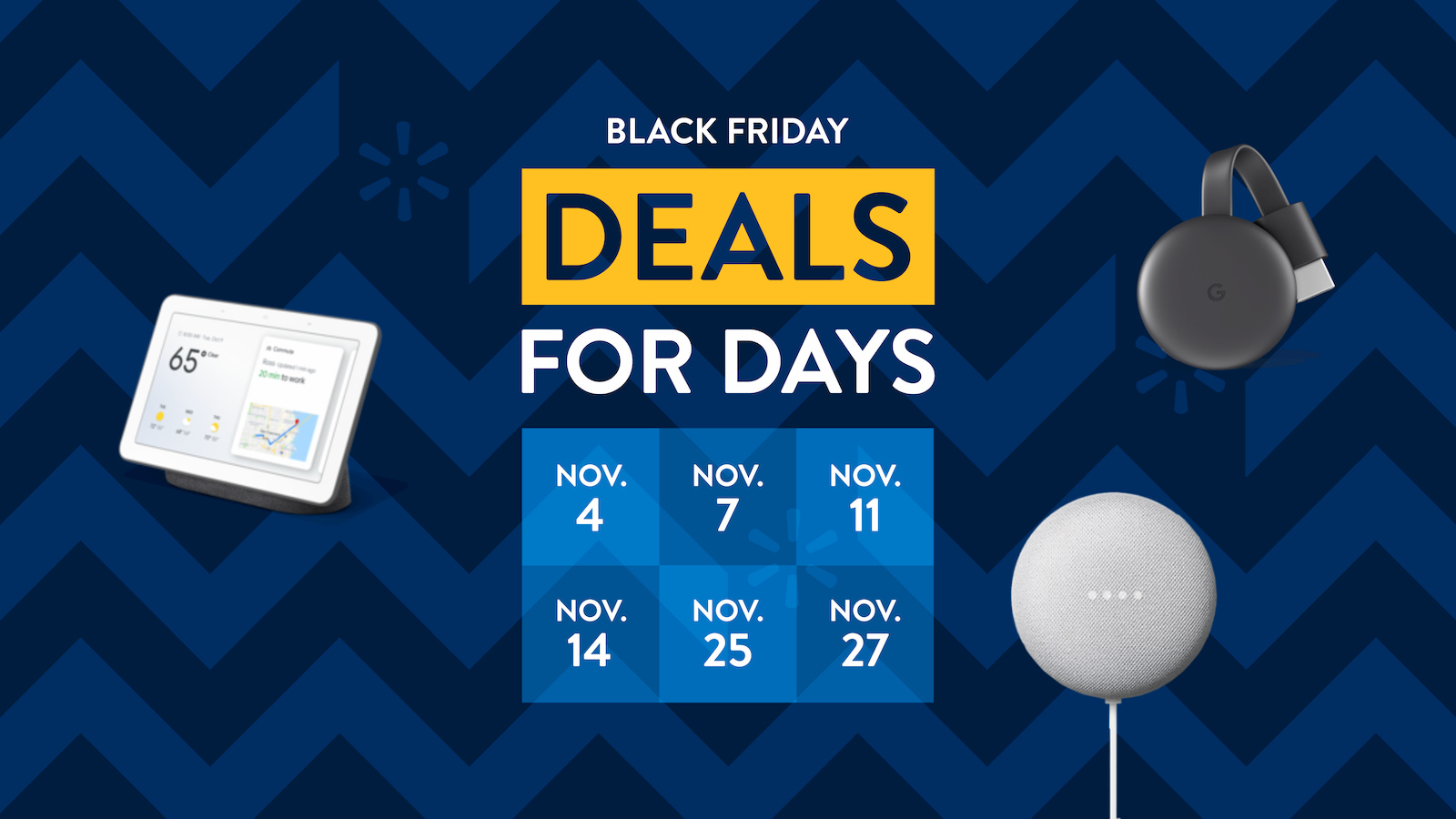 Walmart's Google-y Black Friday Deals go live tonight with bonus Vudu credits