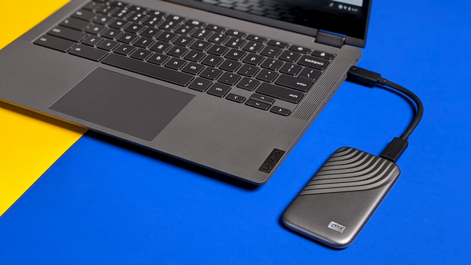 "Grab this 1TB ""Works with Chromebook"" portable SSD and save $90"