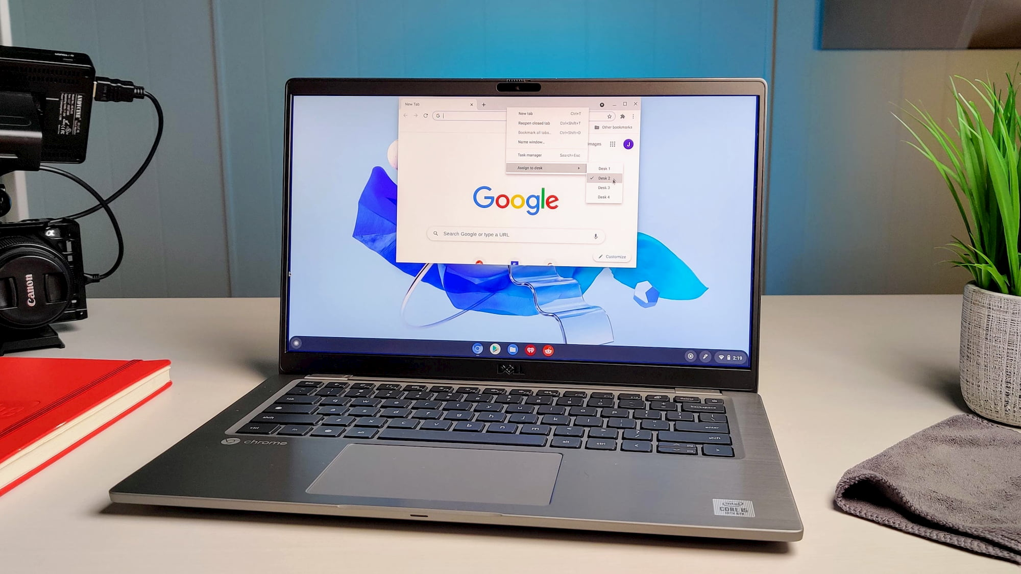 Chromebook virtual desk navigation is getting a substantial productivity boost
