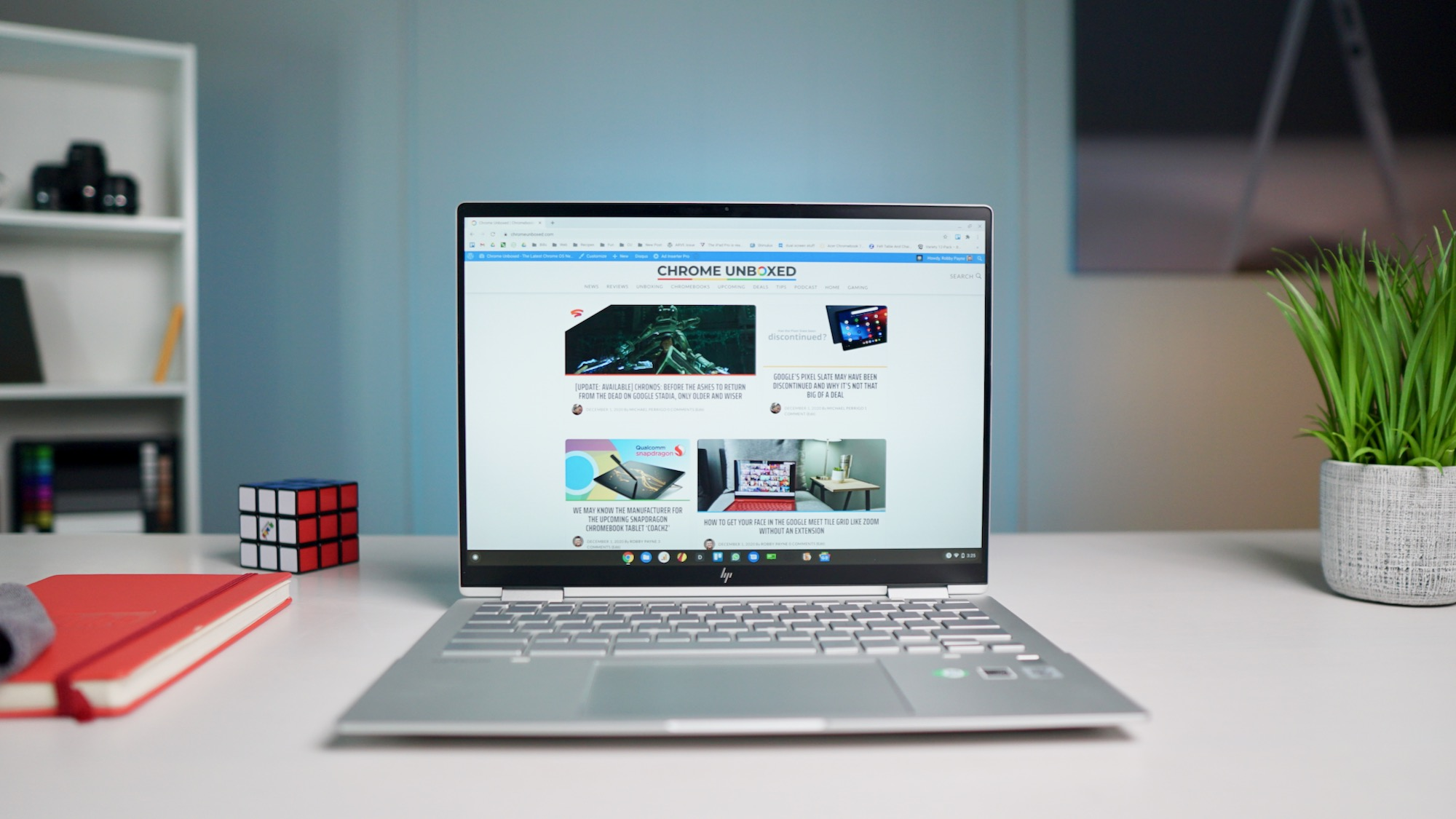 HP Chromebook Elite c1030 unboxing and hands-on [VIDEO]