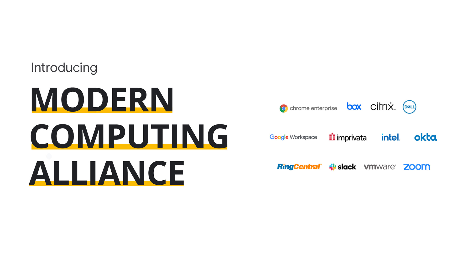 Google joins the Modern Computing Alliance and vows to help organizations transition to the cloud