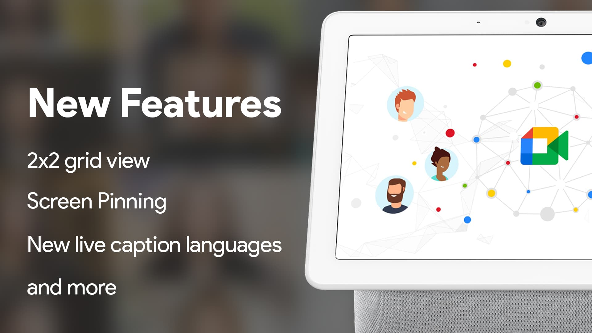 Google Meet gets more live caption languages, a redesigned Nest Hub Max experience, and more