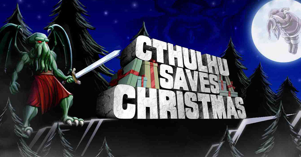 Help Cthulhu save Christmas today for free on Stadia Pro with this comedic turn-based JRPG