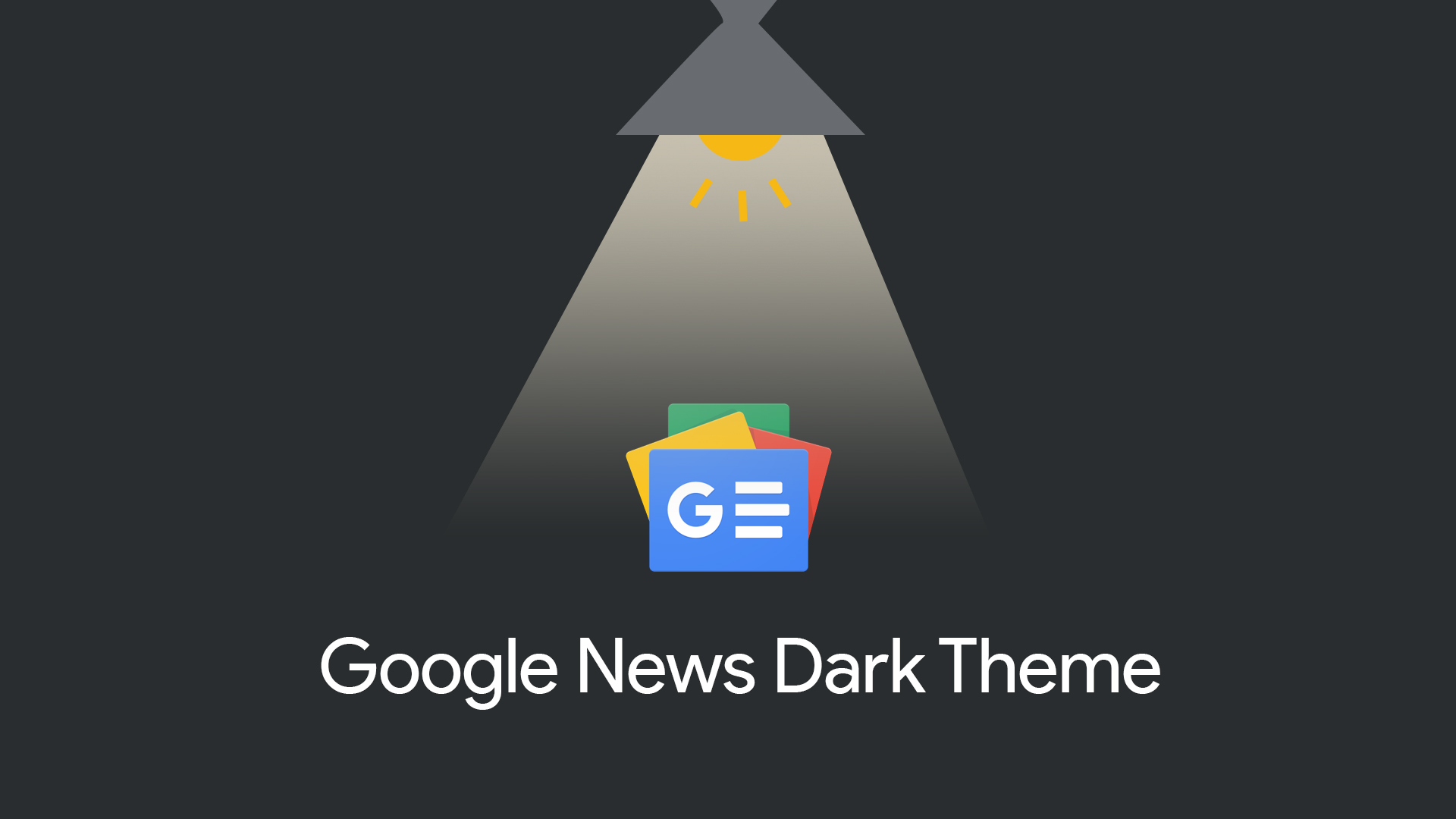 Google News on the web receives a much needed dark theme