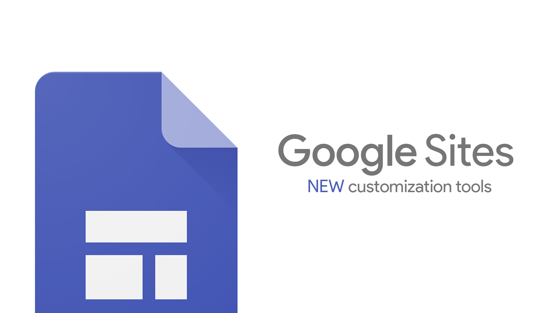 Teachers rejoice! Google Sites just added new customization tools, themes coming next year