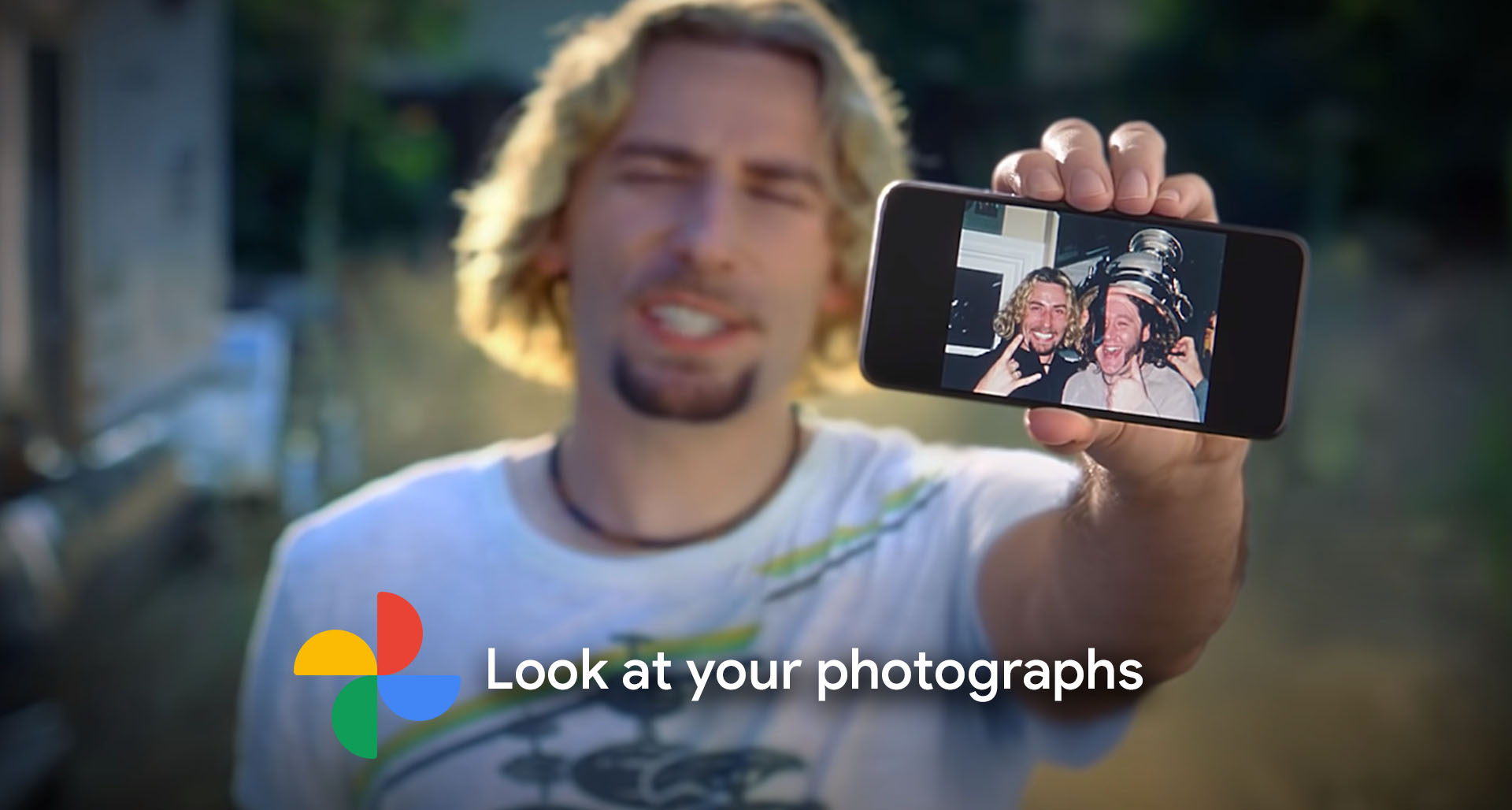 Google Photos lets you have your Nickelback, but not your quarter back