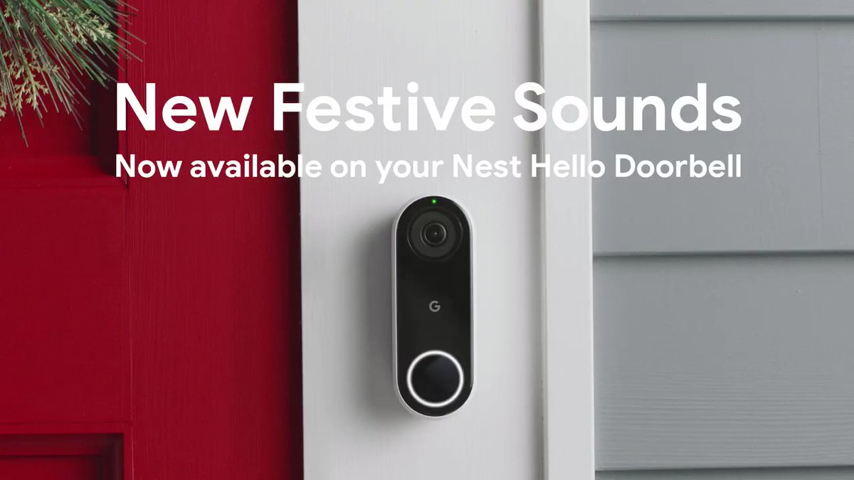 Holiday Nest Doorbell ringtones return with Kwanzaa sounds added